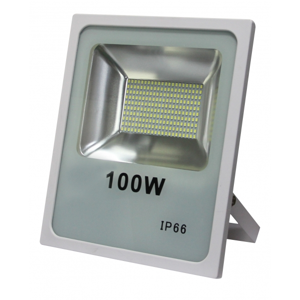 Proyector 100w 4000k Smd Quiron 7900lm 120º Blanco