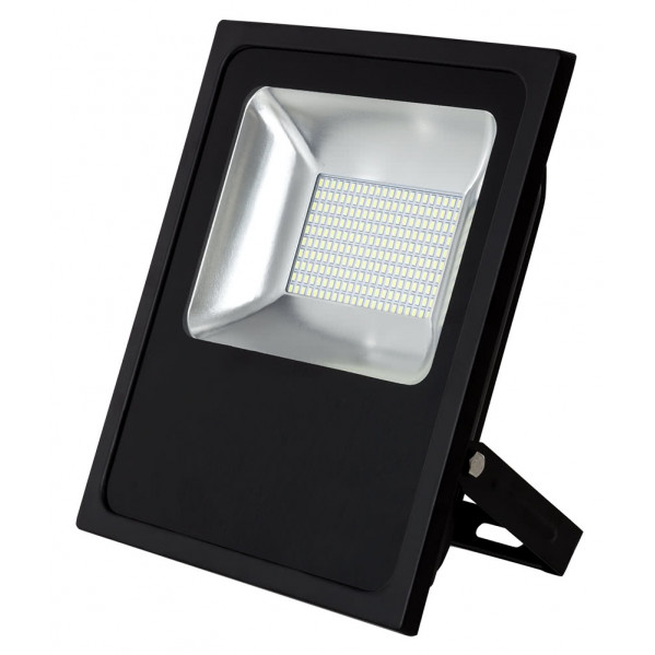 Proyector 100w 6500k Con Sensor Led Smd Quiron 35