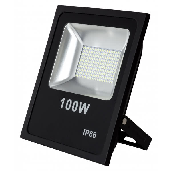 Proyector 100w 6500k Led Smd Quiron 7900lm 120º 30x35x6,5