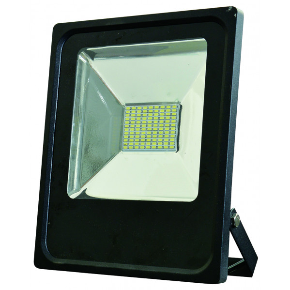 Proyector 50w 6500k Con Sensor Led Smd Quiron  35